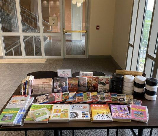 books and teaching materials