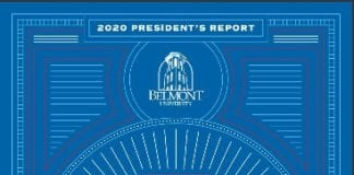 President's Report cover