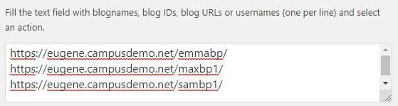 Add blog URLs