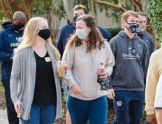 Life on campus during the pandemic