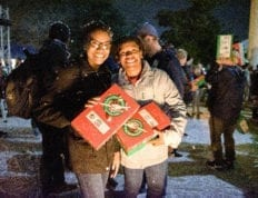 Charleston Southern University students pack 5115 Operation Christmas Child boxes