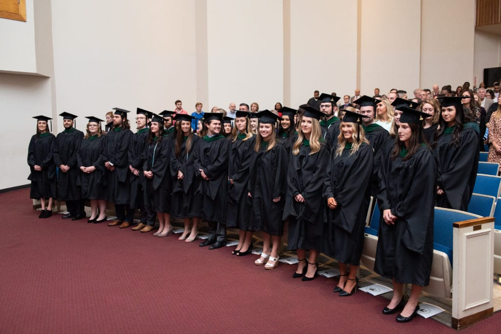 Inaugural physician assistant class graduating at Charleston Southern University
