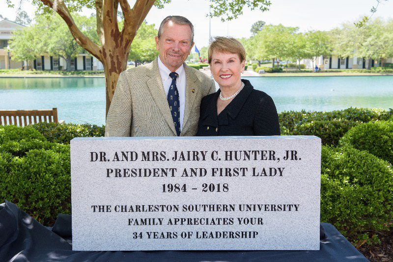Dr. and Mrs. Hunter