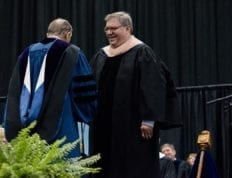 Frank Bullard receives honorary doctorate