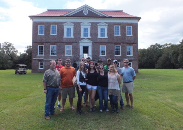 CSU history class at Drayton Hall