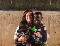 Amie York, grad student at Charleston Southern, works with OneWorld Health