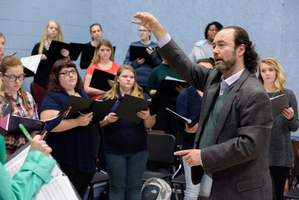 Ricard Bordas, assistant professor of music at Charleston Southern University