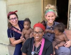 CSU physician assistant students in the Dominican Republic