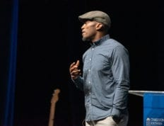 Dhati Lewis speaks at Charleston Southern University Chapel