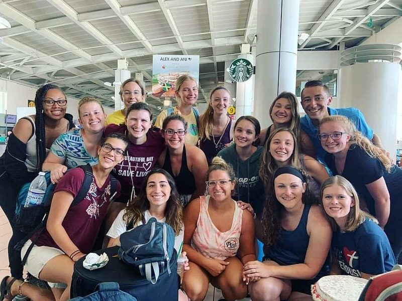 The Jamaica Field Service Project team gathered from across the U.S. and Canada to fly to Jamaica.