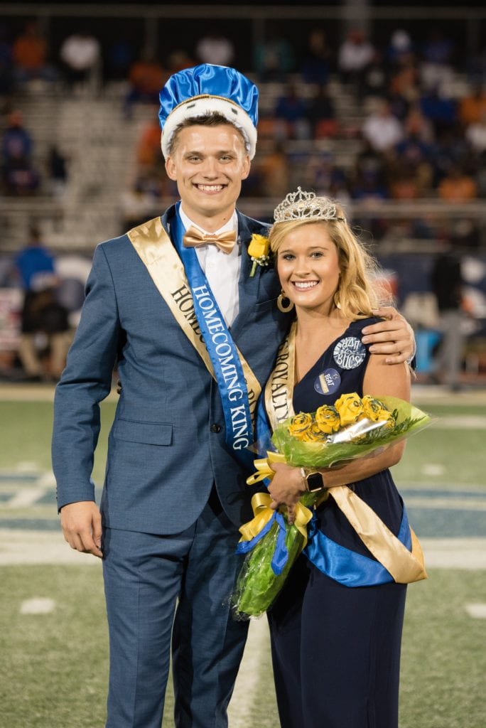 Alpha Delta Pi member crowned Homecoming Queen 2019 at Charleston Southern University