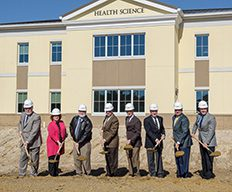 CSU's Board of Trustees at the PT building ground breaking
