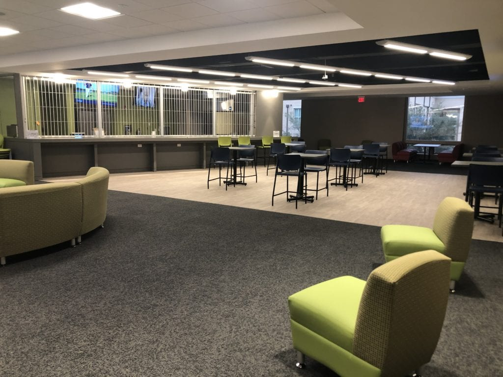 A new student lounge will open to the Charleston Southern University campus