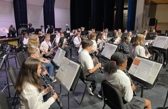 Charleston Southern University's Horton School of Music sponsored the 10th annual Summer Music Camp during the last two weeks of June
