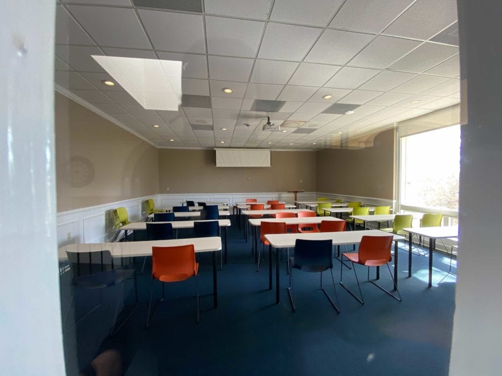 Students will also enjoy a new meeting space on the second floor. Charleston Southern University