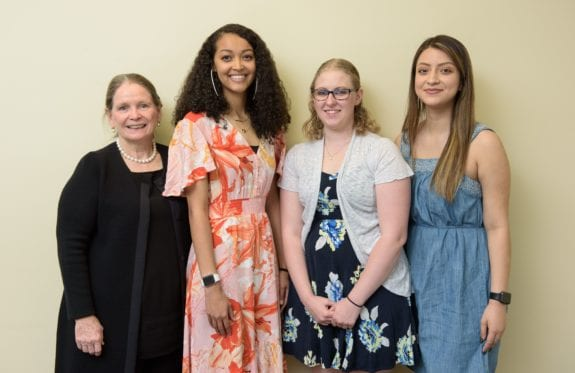 Rosemary Wenchel and Charleston Southern University cybersecurity graduates