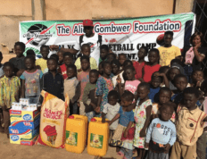 The Alice Gombwer Foundation, established by CSU men's basketball alumnus Paul Gombwer, provides for orphans and widows in Nigeria
