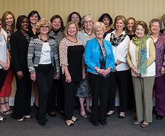 A group photo of the CSU women's council.