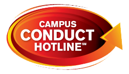 Campus conduct hotline logo