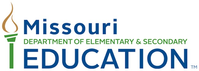Missouri department of elementary and secondary education logo