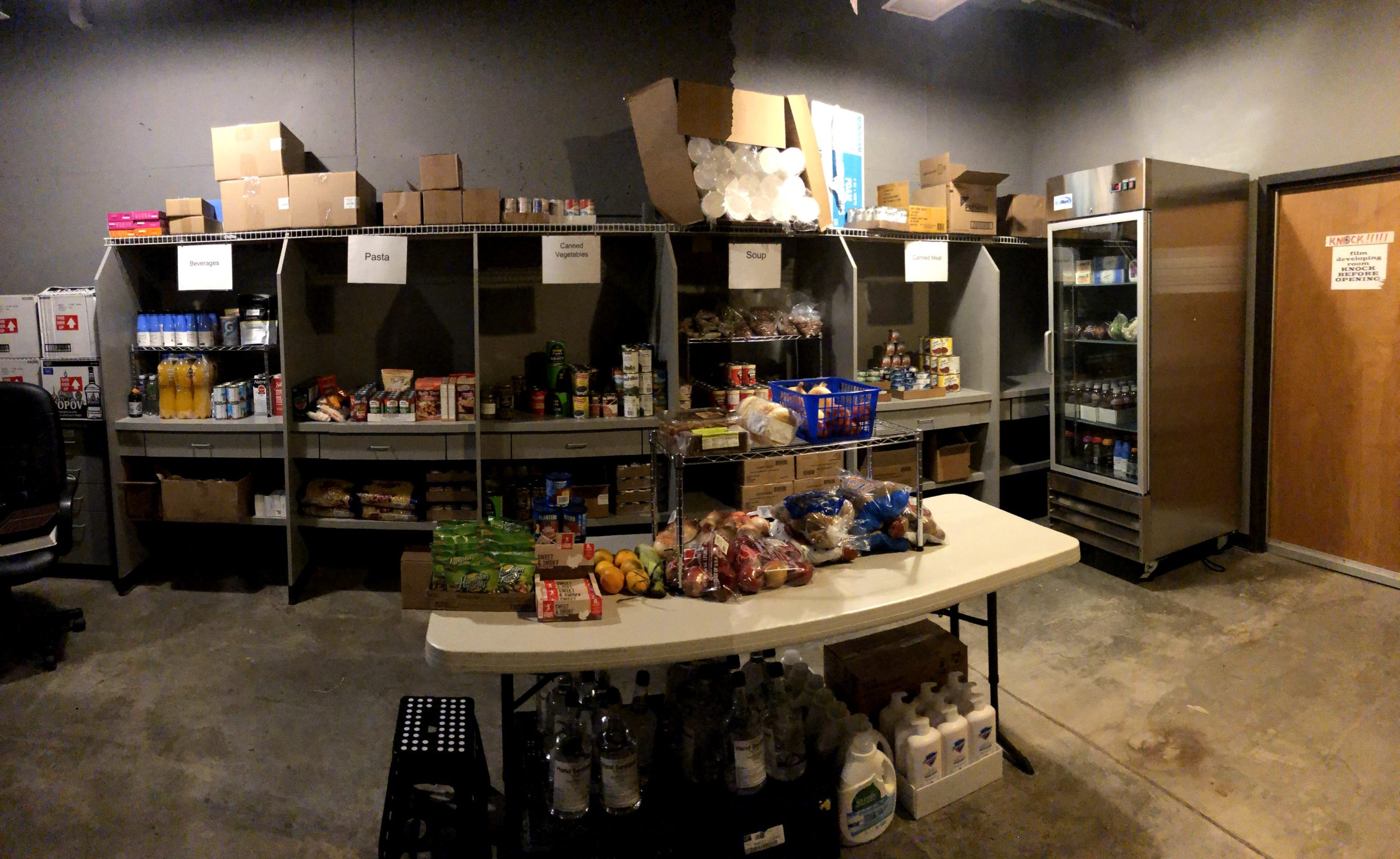 Image of community pantry