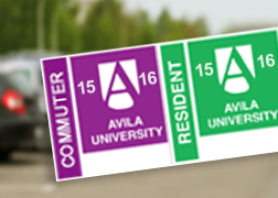 Sample of Avila parking permit