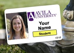 Sample of Avila student ID