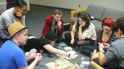 English club game night