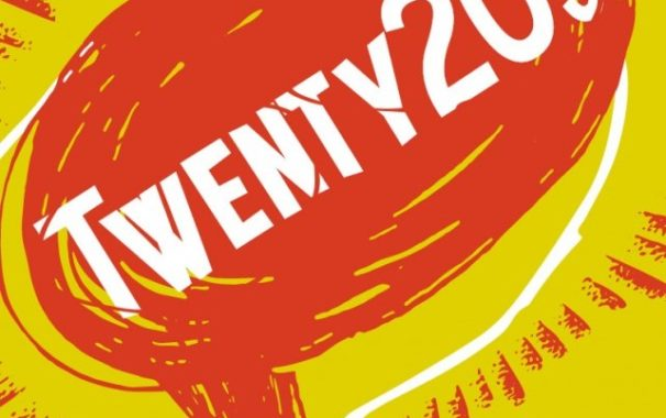 Tight crop of the Twenty-20's theatre poster