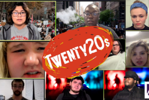 Collage of students with overlay