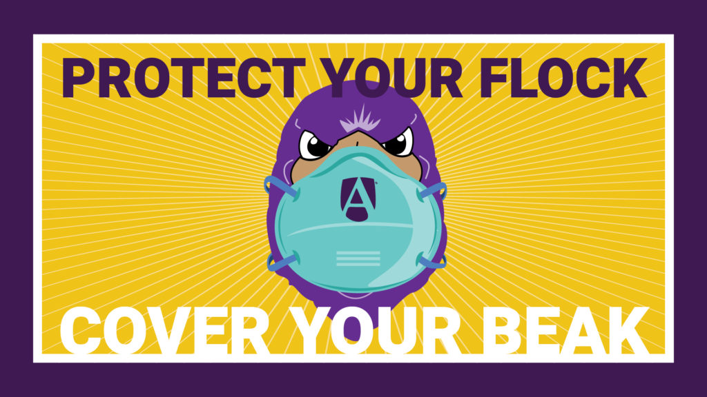 Protect your flock. Cover your beak.