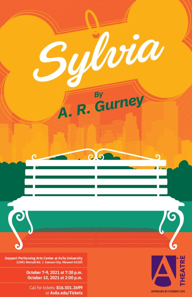 Poster for Sylvia play