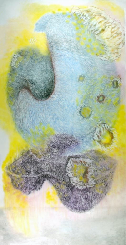 """""""Observed and Recorded Permutations of The Holy Spirit"""" is among the works artist Pamela Diaz Martinez will exhibit at Piedmont University's Mason-Scharfenstein Museum of Art."""
